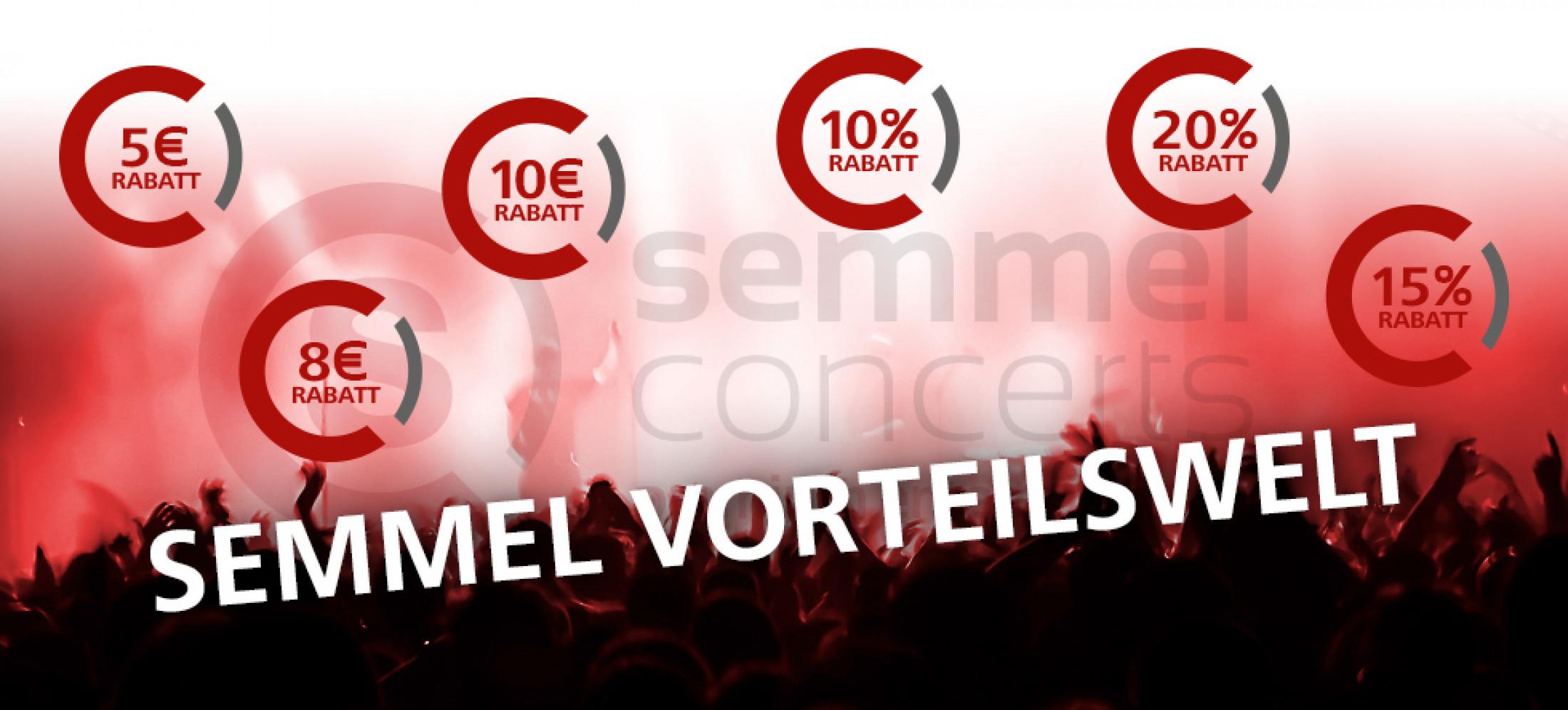 Sparen Sie bei unseren Shows, Musicals und Konzerten!
