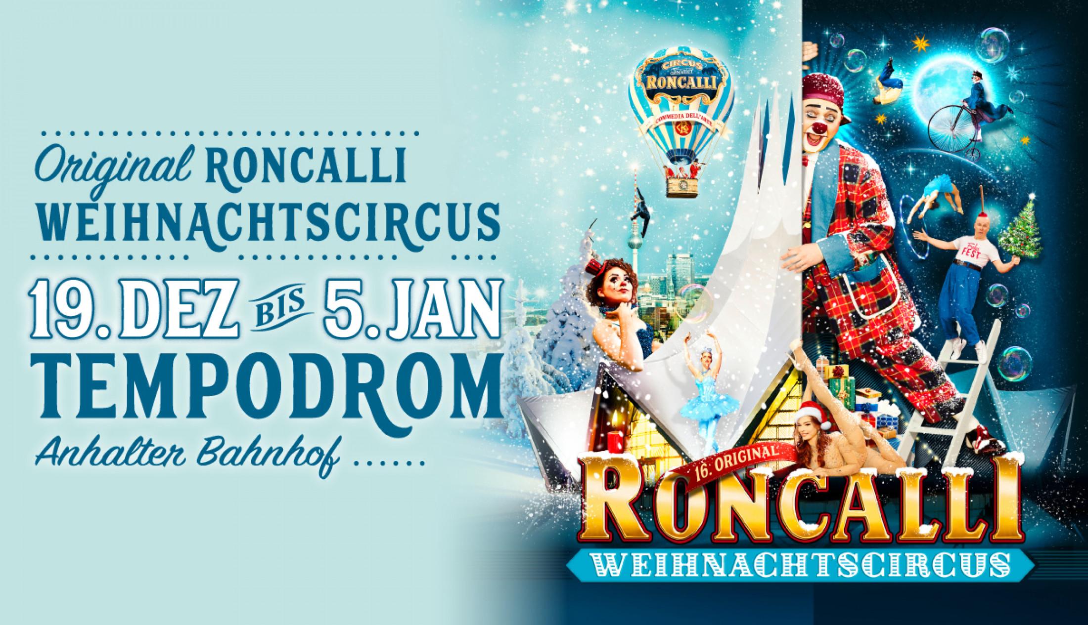 Exklusiver Preisvorteil Roncalli Weihnachtscircus